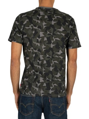 Levi's Housemark Graphic T-Shirt - Camo