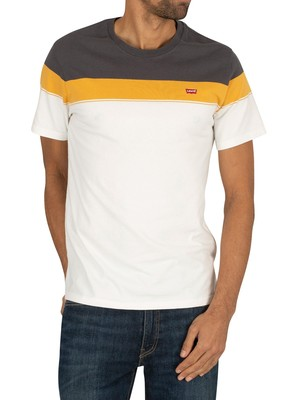 Levi's Original T-Shirt - Golden Over Stripe