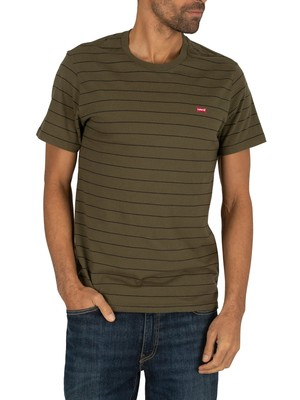 Levi's Original T-Shirt - Patch Olive