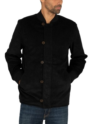 Levi's Quilted Deck Bomber Jacket - Mineral Black