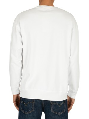 Levi's Relaxed Graphic Sweatshirt - White