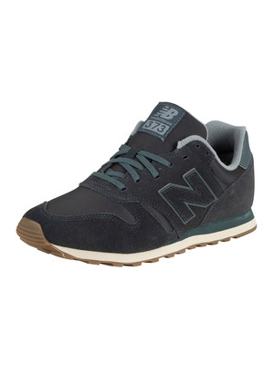 New Balance 373 Suede Trainers - Outerspace/Reflection