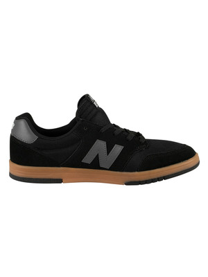 New Balance 425 All Coasts Suede Trainers - Black/Grey