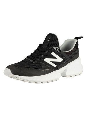 New Balance 574 Sport Trainers - Black/White