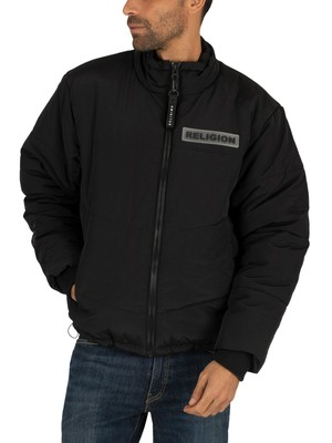 Religion Shield Jacket - Black