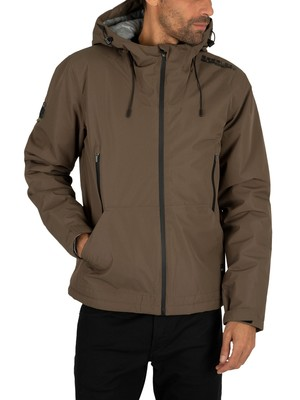 Superdry Padded Elite Jacket - Deep Olive