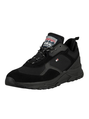 Tommy Hilfiger Fashion Mix Trainers - Black
