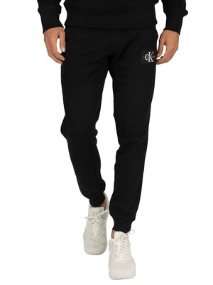 Calvin Klein Jeans Monogram Patch Joggers - Black