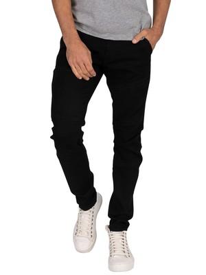 G-Star Rackam 3D Skinny Jeans - Pitch Black