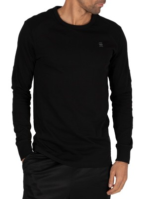 G-Star Sipphon Motac Longsleeved T-Shirt - Dark Black