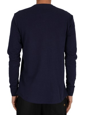 G-Star Swando Loose Longsleeved T-Shirt - Sartho Blue