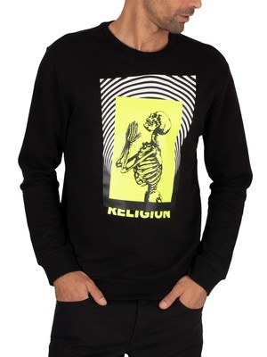 Religion Electro Sweatshirt - Black