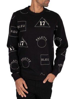 Scotch & Soda Graphic Sweatshirt - Navy