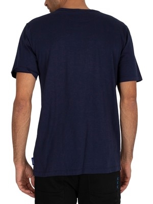 Scotch & Soda Graphic T-Shirt - Navy