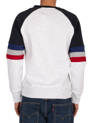 Superdry Engineered Sweatshirt - Ice Marl