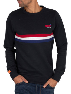 Superdry Engineered Sweatshirt - Eclipse Navy