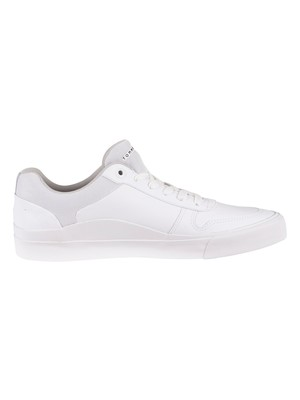 Tommy Hilfiger Core Corporate Modern Leather Trainers - White