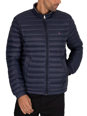 Tommy Hilfiger Core Packable Down Jacket - Sky Captain