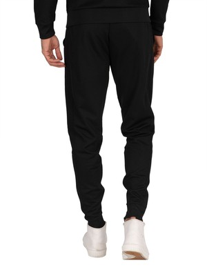 11 Degrees Poly Track Joggers - Black/Gold