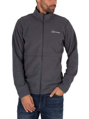 Berghaus Prism Micro Fleece Jacket - Dark Grey/Dark Grey