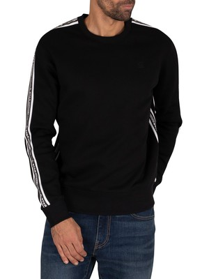 G-Star Alchesai Core Sweatshirt - Dark Black