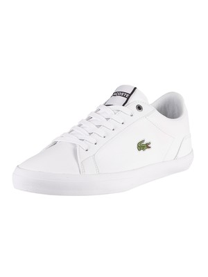 Lacoste Lerond 418 3 CMA Leather Trainers - White
