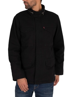 Levi's Sherpa Field Jacket - Black