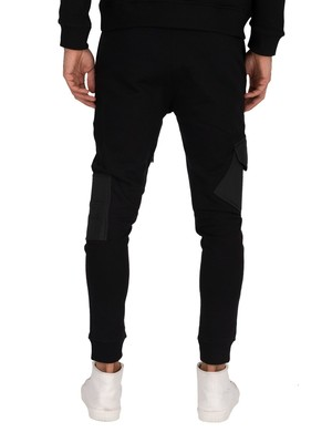 Religion Construction Joggers - Black