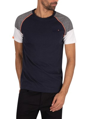 Superdry Desert Baseball T-Shirt - Eclipse Navy