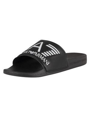 EA7 Sea World Sliders - Black
