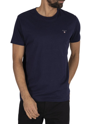 GANT The Original T-Shirt - Evening Blue