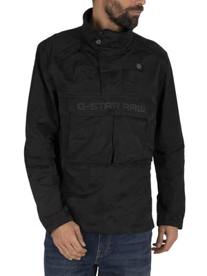 G-Star Atoll Anorak Jacket - Dark Black
