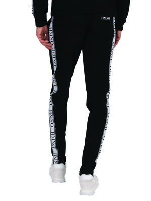 Hermano Taped Joggers - Black