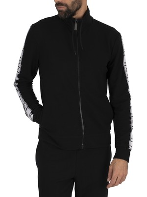 Hermano Taped Zip Track Jacket - Black