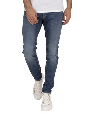 Jack & Jones Liam Original 005 Skinny Jeans - Blue Denim