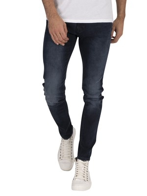 Jack & Jones Liam Original 004 Skinny Jeans - Blue Denim