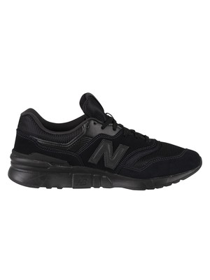New Balance 997H Suede Trainers - Black