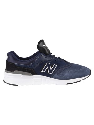 New Balance 997H Suede Trainers - Pigment/Magnet