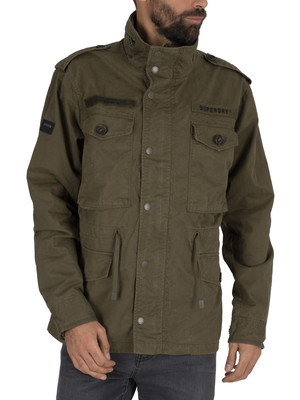 Superdry Rookie Field Jacket - Ivy Green