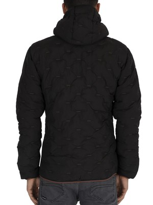 Superdry Woven Quilt Jacket - Black