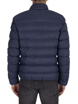 Tommy Jeans Essential Down Puffer Jacket - Black Iris Navy