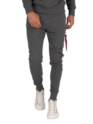 Alpha Industries X-Fit Slim Joggers - Charcoal Heather