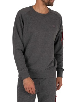 Alpha Industries X-Fit Sweatshirt - Charcoal Heather