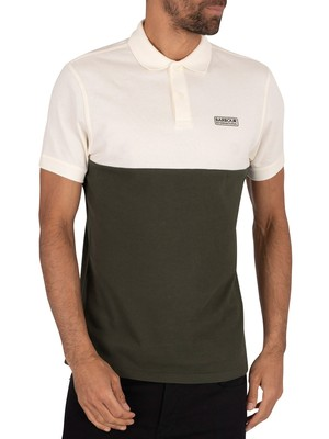 Barbour International Cotter Polo Shirt - Whisper White