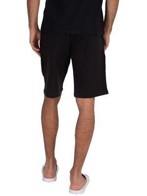 Diadora 5Palle Bermuda Sweat Shorts - Black/Optical White