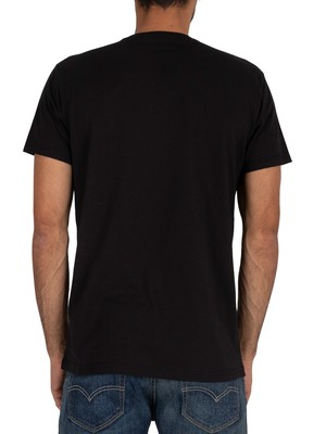 Gant Medium Shield T-Shirt - Black