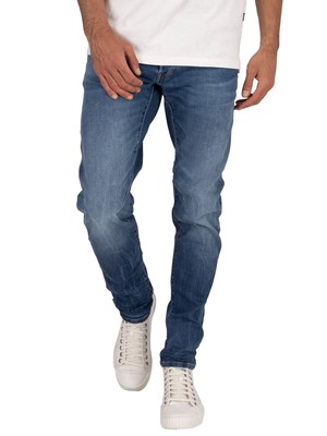 G-Star D-Stag Slim Jeans - Medium Indigo Aged