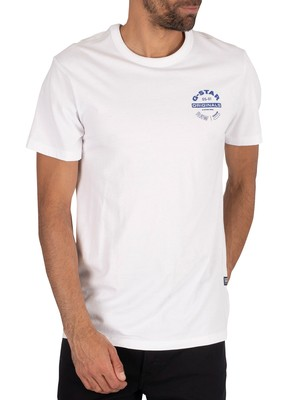 G-Star Original Logo T-Shirt - White