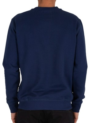 G-Star Originals Logo Sweatshirt - Imperial Blue
