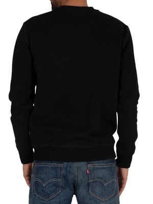G-Star Originals Logo Sweatshirt - Dark Black